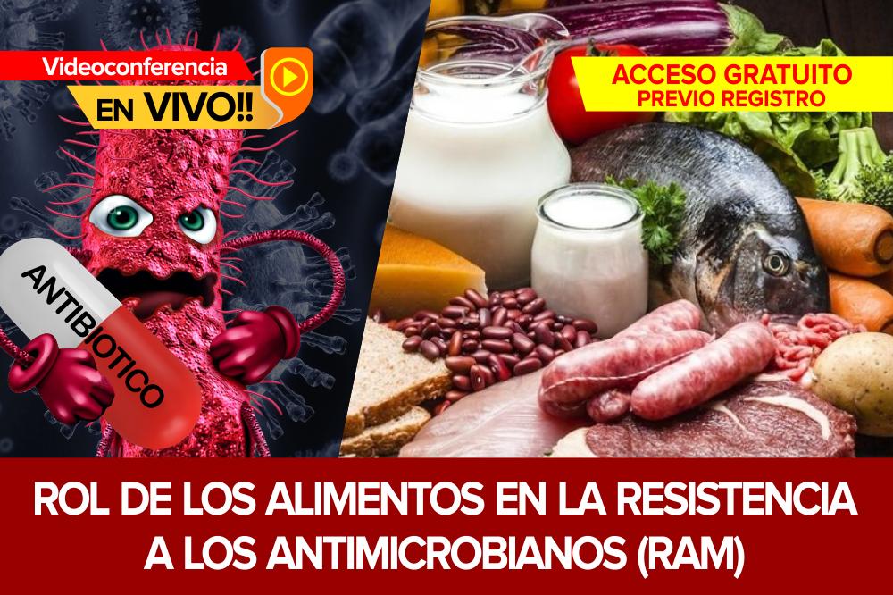 Rol de los Alimentos en la Resistencia a los Antimicrobianos