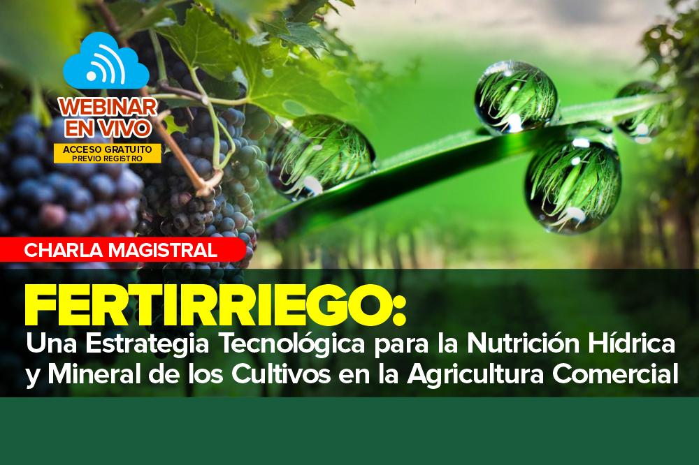 Fertirriego como Estrategia Tecnológica para la Nutrición Hídrica y Mineral de los Cultivos en la Agricultura Comercial