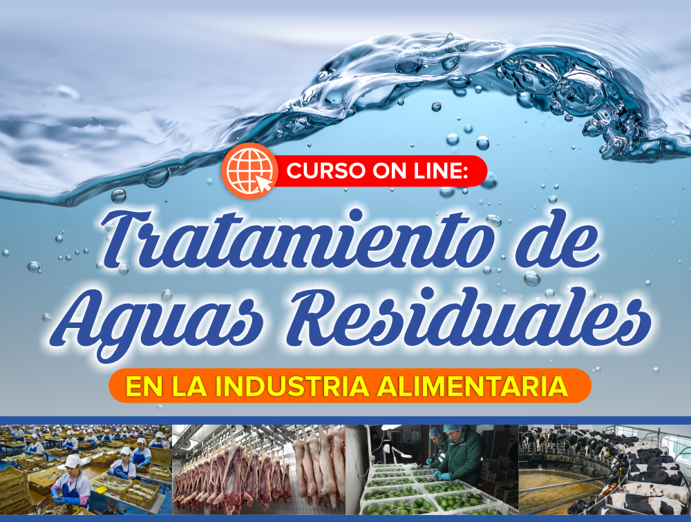 Curso On Line: Tratamiento de Aguas Residuales en la Industria Alimentaria