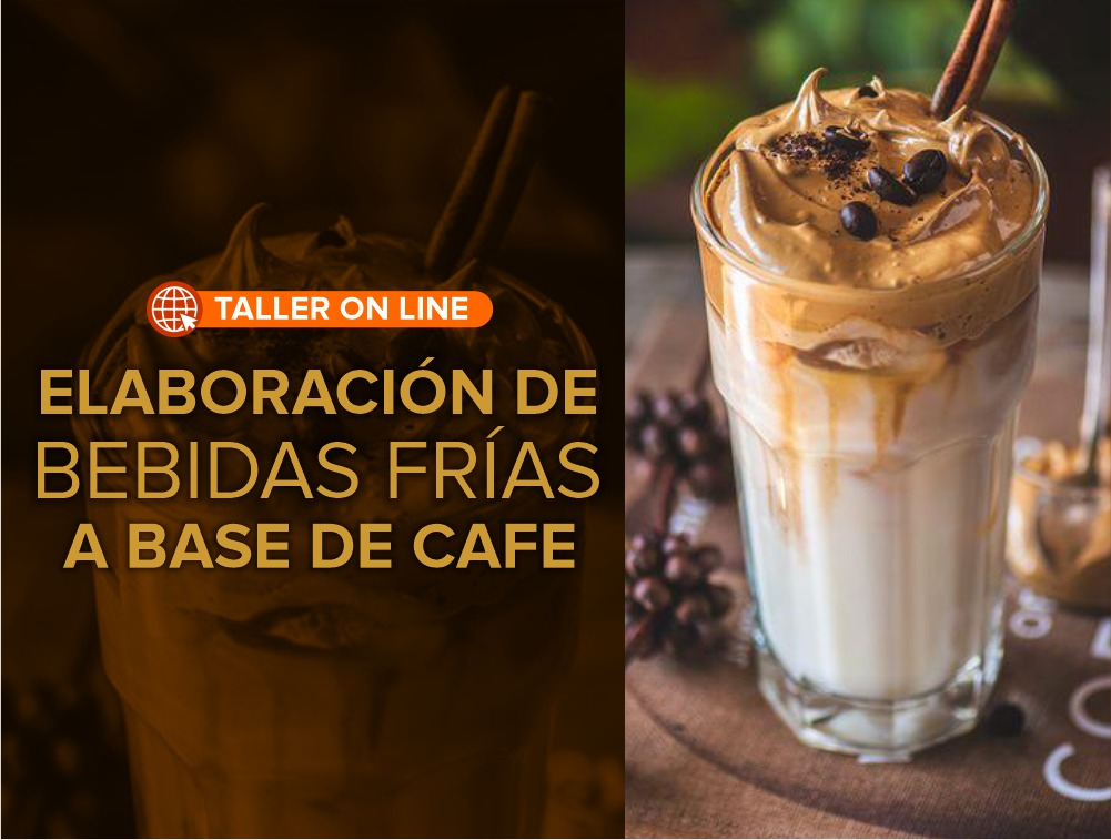 Taller Online Elaboración de bebidas frías a base de café