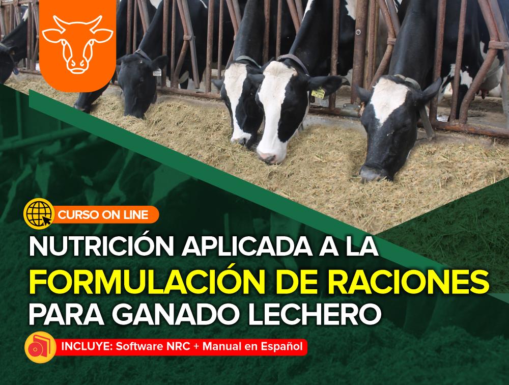 Curso On Line: Nutrición Aplicada a la Formulación de Raciones para Ganado Lechero + Software
