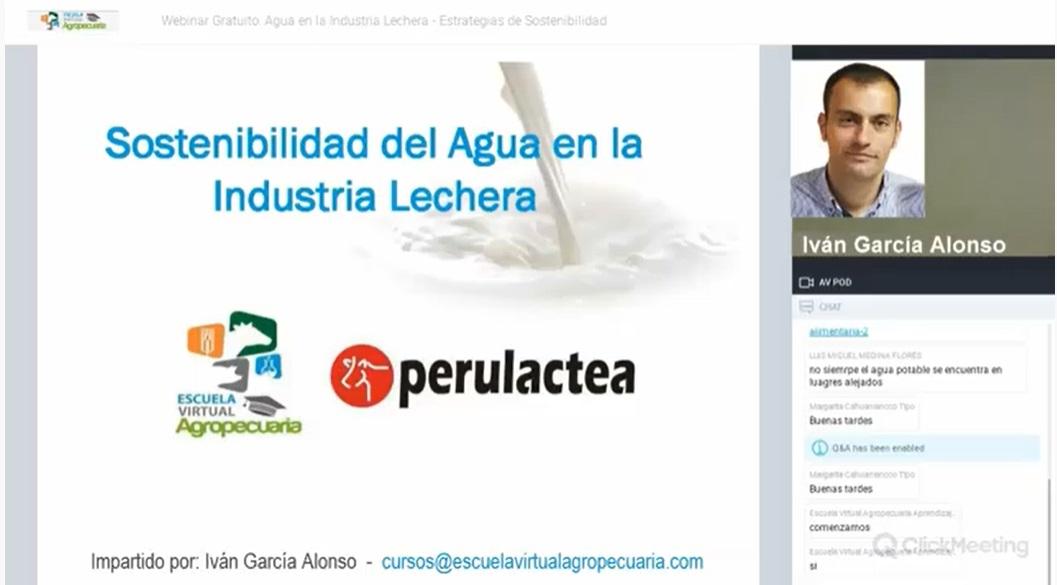Agua en la industria lechera – Estrategia de Sostenibilidad