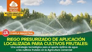 Riego Presurizado de Aplicación Localizada para Cultivos Frutales
