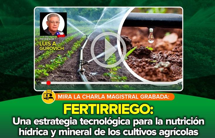 Fertirriego – Una Estrategia Tecnológica para la Nutrición Hídrica y Mineral de Cultivos